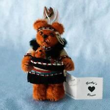 RARE Miniature Artist Bear hand made by award winning & designer Becky Wheeler