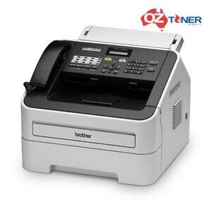 Brother FAX2840 B&W Laser Plain Paper Fax Machine Printer+Handset TN2230/TN2250
