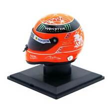 HELM FINAL HELMET M SCHUMACHER MERCEDES LAST F1 RACE BRAZIL GP 2012 1:4 NEW OVP