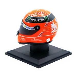 HELM FINAL HELMET M SCHUMACHER MERCEDES LAST F1 RACE BRAZIL GP 2012 1:4 NEW OVP