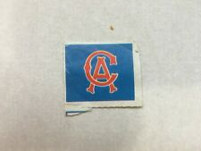 Original California Angels Logo Stamp - Circa 1969-1970