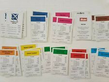 MONOPOLY Here & Now Limited Edition - 28 TITLE DEED CARDS Replacement - Complete