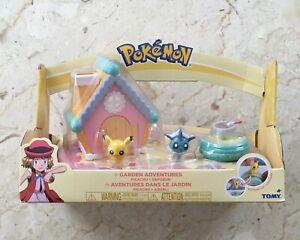 Pokemon Petite Pals - Pikachu & Vaporeon - Garden Adventures Playset