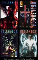Hellshock (Mini-Series) 1 2 3 4 Image 1994 Complete Set Run Lot 1-4 VF/NM