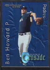 BEN HOWARD 2002 DONRUSS #26 RC ROOKIE CRUSADE PADRES SP #0970/1500
