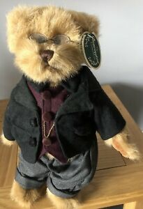 "Bearington Collection Teddy Bear ""Rich Bearsworth 3rd"" New With Tags"