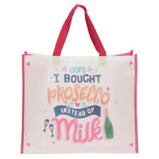 Oops I Bought Prosecco Instead of Milk Re-usable Shopping Bag Womens Accessory