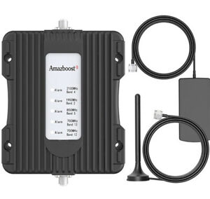 Vehicle Cell Phone Signal Booster for Car,Truck,RV,Pickup or SUV