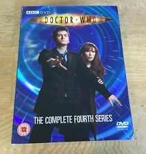 Doctor Who: The Complete Fourth Series DVD (2008) David Tennant