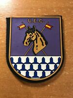 SPAIN PATCH POLICE POLICIA NACIONAL MOUNTED U.E.C. - ORIGINAL