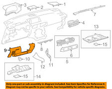 55045-53071-C0 Toyota Panel sub-assy, instrument panel finish, lower 5504553071C