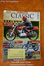 Motorrad Classic 6/05 MV Agusta 1100 Kreidler Hercules