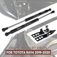 2Pcs Car Front Engine Hood Lift Support Shock Struts For Toyota RAV4 2019 2020