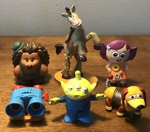 Disney Pixar Toy Story Figures FREE SHIPPING Alien Slinky Dog Bullseye Baby Doll