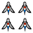 AMC Hornet Emblem Stickers (4) Emblem Logo Badge Script  for sale