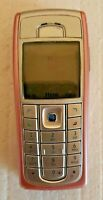 PINK CHEAP NOKIA 6230i MOBILE PHONE-UNLOCKED WITH NEW HOUSE CHARGAR AND WARRANTY