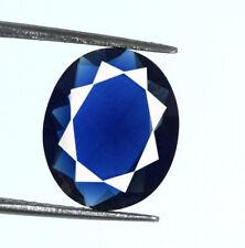 Ceylon 3.15 Carat Blue Sapphire 11 x 9 mm Gemstone Natural Oval AGSL Certified