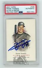 Frank Thomas 2007 Topps Allen & Ginter Autographed Card #160 - PSA/DNA