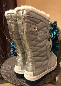 New Disney X Sorel Tofino Frozen II 2 Winter Tall Snow Boots Womens Size 8.5