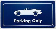 Parking Only - Porsche 944 Cabrio - Aluminium Schild