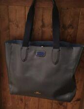 COACH Midnight Blue Tote Shoppers Bag Satchel Handbag