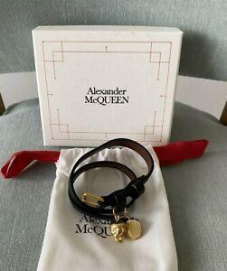 Alexander McQueen $225 Skull Wrap Around Bracelet ! NIB !