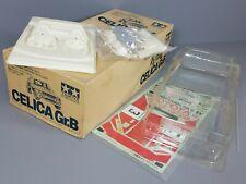 Vintage RARE 1987 New Tamiya 1/12 Toyota Celica Gr.B Body Parts Set OG Brown Box