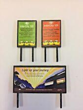 4 Model Railway Billboards / Posters - Trackside Signs - OO Gauge - Pack 162