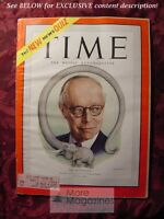TIME Magazine October 30 1950 Oct 10/30/50 Mr. Republican ROBERT A. TAFT