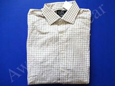 New Ralph Lauren Polo Classic Fit Checkered 100% Cotton Button Shirt 17 34/35