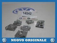 8 Pieces Clip Fastening Radiator Support Splash Shield Nut Audi A6 06