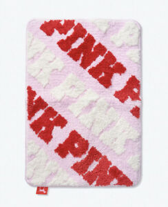 Victoria's Secret Pink Bath Rug New With Tags