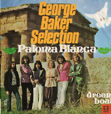 GEORGE BAKER SELECTION - Paloma Blanca / Dream Boat - Cardinal Records 45rpm