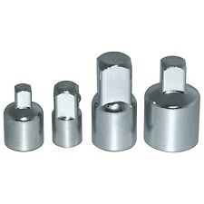 "4PC SOCKET REDUCER CONVERTER ADAPTER SET 1/4"" TO FROM 3/8"" AND 3/8"" TO FROM 1/2"""
