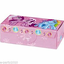 MY LITTLE PONY FAVOR BOXES (6) ~ Vintage Birthday Party Supplies Treat Loot MLP