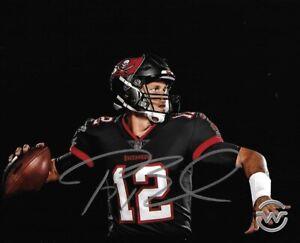 Tom Brady Tampa Bay Bucs Autographed Signed 8X10 Photo  REPRINT