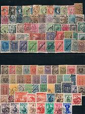 Austria. Dos fichas con 100 sellos diferentes nuevos o usados con valor 300 €