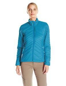 Size M - Icebreaker Stratus Long Sleeve Zip Jacket, Alpine/Aquamarine/Alpine