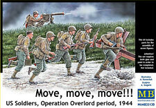 Master Box 35130 U.S. soldiers, Operation Overlord period, 1944 1:35 model kit
