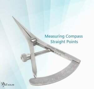 Dental Castroviejo Bone Caliper 40mm Measuring Gauge Orthopedic Implant