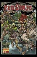 Red Sonja #5 Cover C First Printing Dynamite 2005 Series CBX7