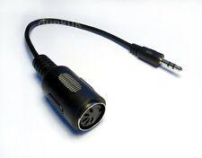 Type A 3.5mm Mini Jack TRS to 5 Pin MIDI DIN Adapter Cable Korg Akai Makenoise