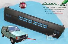 1 PARAURTI ANTERIORE NERO FIAT PANDA dal 09/1986 > al 09/2003