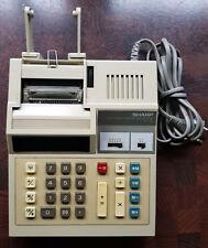 Bürorechner, Tischrechner, Druckender Sharp EL-1182