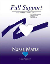 Nurse Mates Full Support Firm Compression Hosiery New
