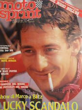 Motosprint 2 1983 Marco Lucchinelli - Test Montesa COTA 349 NW  [SC.31]