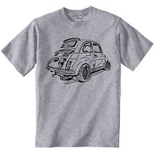FIAT ABARTH 500 Ispirato-NUOVO Amazing Graphic T-Shirt S-M-L-XL - XXL