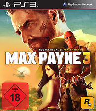 Max Payne 3 III für Playstation 3 PS3 | NEUWARE | DEUTSCH!