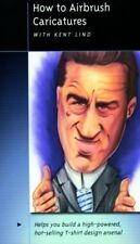How To Airbrush Caricatures Airbrush Action Painting DVD with Kent Lind Createx
