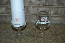 Set of 2 Made in France KRONENBOURG 0.25L Stemmed Beer Glasses EXCL COND!!!